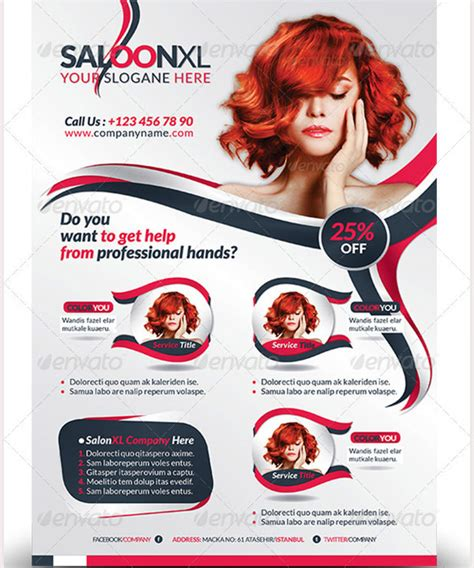 salon flyers template free 66 salon flyer templates free psd eps ai