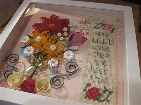 paper flower shadow box tutorial paper flowers in a shadow box by soonica on deviantart