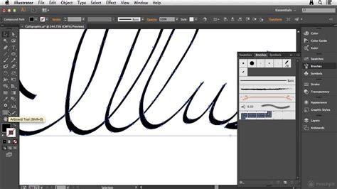 creating stitch brushes in adobe illustrator cc tutorial creating a calligraphic brush in illustrator cc funnydog tv