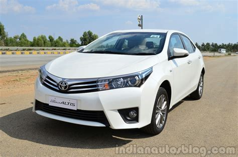 Review Toyota Altis 2014 Toyota Corolla Altis Petrol Review Front Three