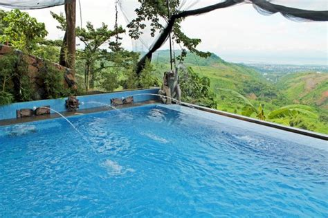 infinity pool overlooking  parts  rizal picture