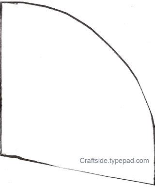 craftside how to draw a pattern for a witch hat and how