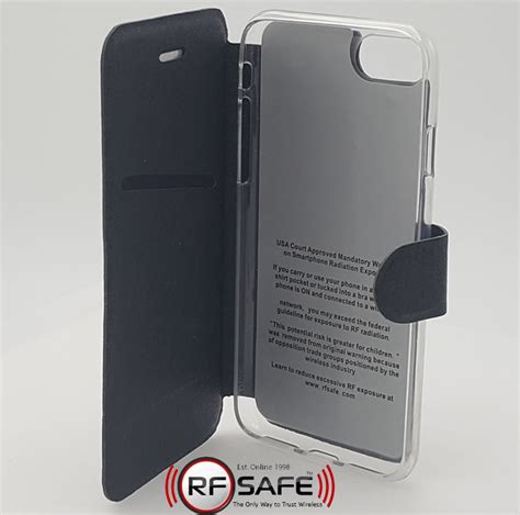 iphone f iphone f series folio rf safe rf safe cases smartphone radiation protection