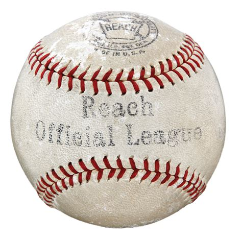 Lot Detail Babe Ruth Single Signed Baseball