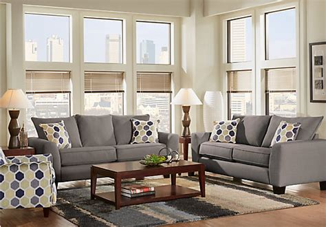 gray living room sets bonita springs 5 pc gray living room living room sets