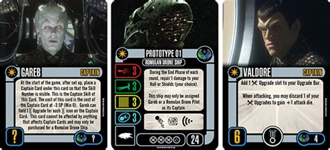 Trek Attack Wing Card Template by Trek Attack Wing Romulan Prototype 01 Wave 11