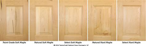 Differences Between Hard Maple And Soft Maple Kitchen Soft For Cabinet Doors
