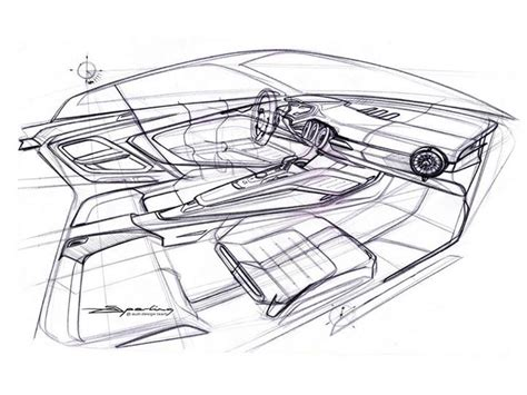 295 best automotive sketch interior images on