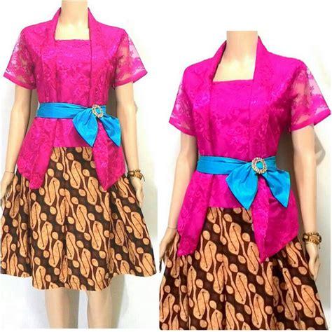 Rok Klok Batik Pendek Mona Motif Parang 5 Model Baju Kebaya Parang Terbaru 165rb