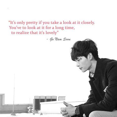 Pin Kaleng Kpop Jong Suk school 2013 quote jong suk as go nam soon kdrama