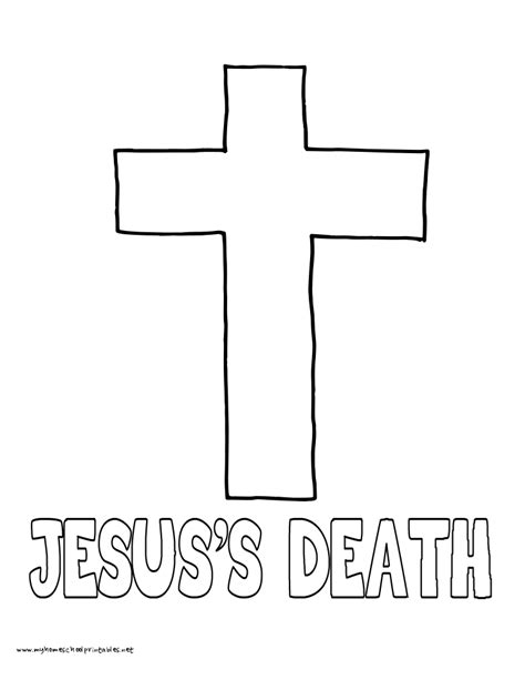 jesus died coloring page world history coloring pages printables jesus s death
