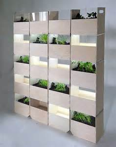 Herb 178 flexible partition wall and indoor herb garden