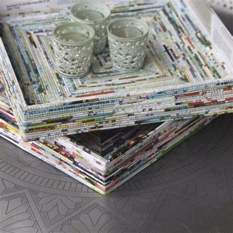 Recycled Magazine Paper Crafts - best 25 recycled magazines ideas on recycled