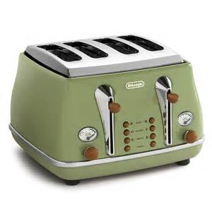 Green Toaster Delonghi Vintage Green Toaster And Kettle