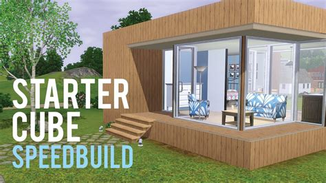 The Sims 3 Speed Build?Starter Home base game only   YouTube