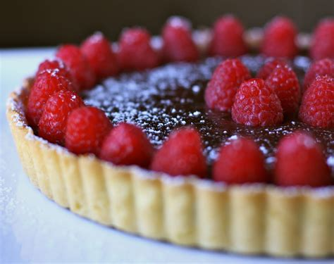 chocolate raspberry tart chocolate raspberry tart recipe dishmaps