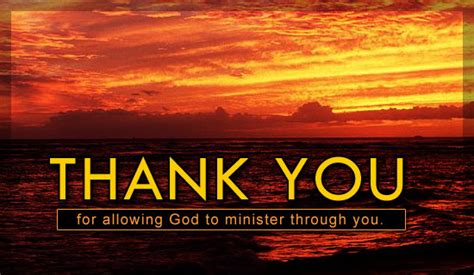 thank you letter to pastor for baptism pastor family church family ecards free christian