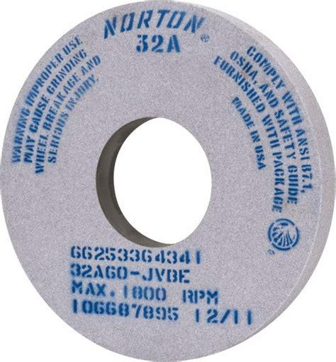 bench grinder wheel types aluminum oxide bench grinding wheel types mscdirect com