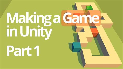 unity tutorial simple game making a simple game in unity part 1 unity c tutorial
