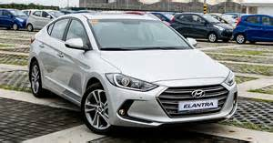 Hyundai Elantra Price List Philippines We Get The Scoop On All New Hyundai Elantra S Variant And