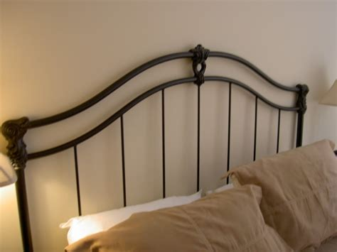 iron headboard bedroom wrought iron bed frame design for retro decoration
