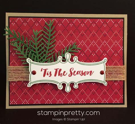pretty pines tis the season christmas card stin pretty