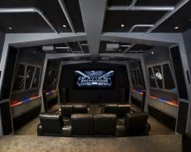 Houzz Home Design Decor example of an expansive classic enclosed home theater design in