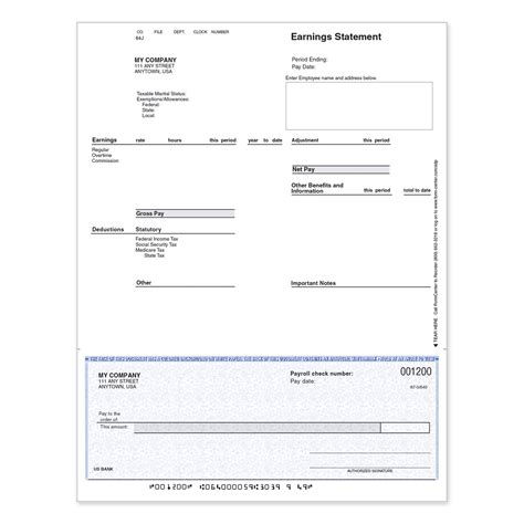Adp Background Check Form Adp Manual Preprinted Checks Formcenter
