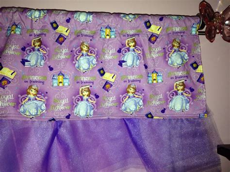 sofia the first curtains my diy princess sofia valance for josie s new room