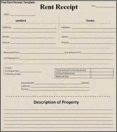 landlord rent receipt template 5 best images of landlord rent receipt template landlord