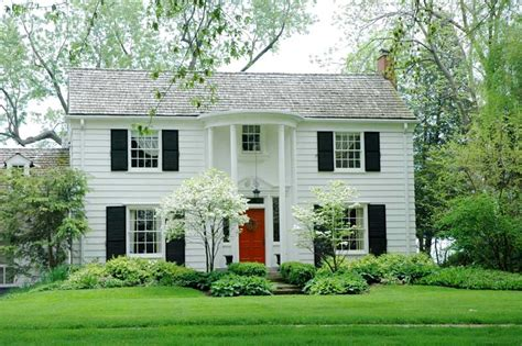shutter colors for white house the most popular exterior shutter colors painted black