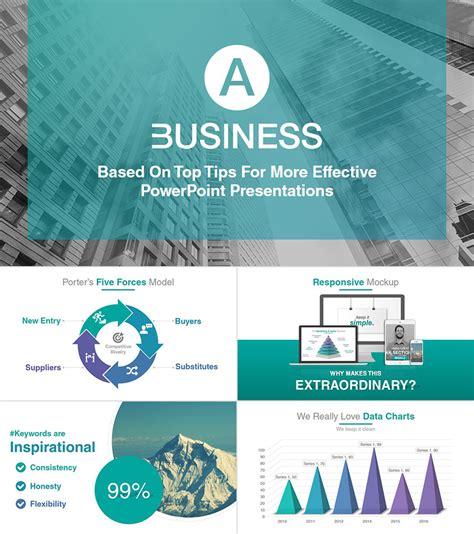 18 Professional Powerpoint Templates For Better Business Presentations Template For Business Presentation