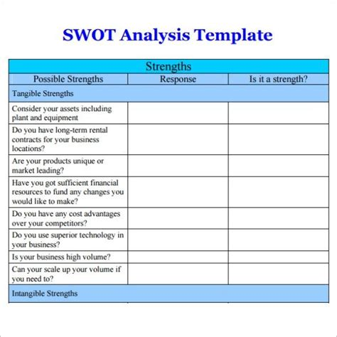 business opportunity assessment template business opportunity analysis template marketing audit