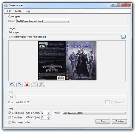 Cd Cover Drucken by Nodesoft Cover Printer
