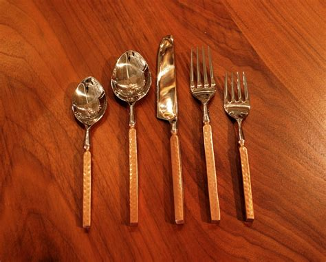 Design For Copper Flatware Ideas Rustic Flatware Copper Flatware Anteks Home Furnishings