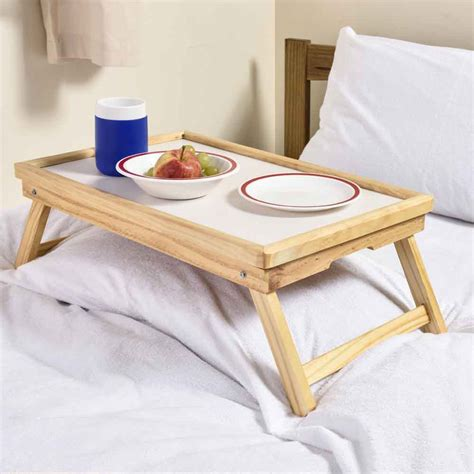 bed food tray adjustable bed tray nrs healthcare