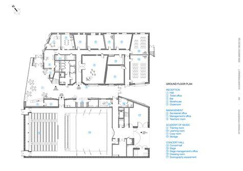Hotel Room Floor Plan gallery of espace culturel de la hague peripheriques