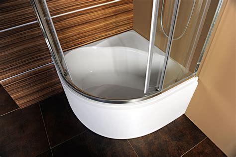 piatto doccia rotondo piatti doccia selma 90x90 polysan
