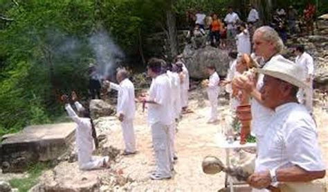 rituals and festivals mayan religion