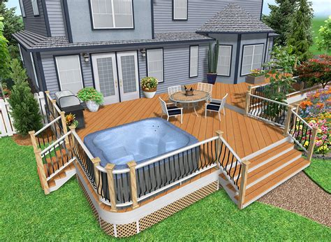 3d Deck Design Designing Patios And Decks For The Home