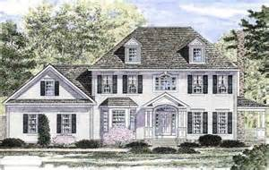 traditional colonial house plans colonial traditional house plan 94167