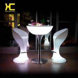 Led Bar Table Buy Wholesale Led Cocktail Table From China Led Cocktail Table Wholesalers Aliexpress
