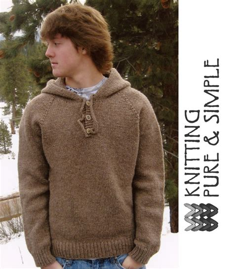 Sweater Hoodiee Jumper Sweater Pria Gc neck s hooded hoodie pullover by knitting and simple knitting pattern halcyon