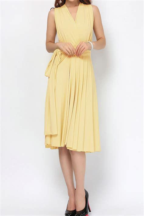 light yellow bridesmaid dresses light yellow short convertible dress bridesmaid dress st