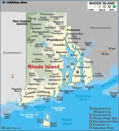 united states map rhode island map of rhode island