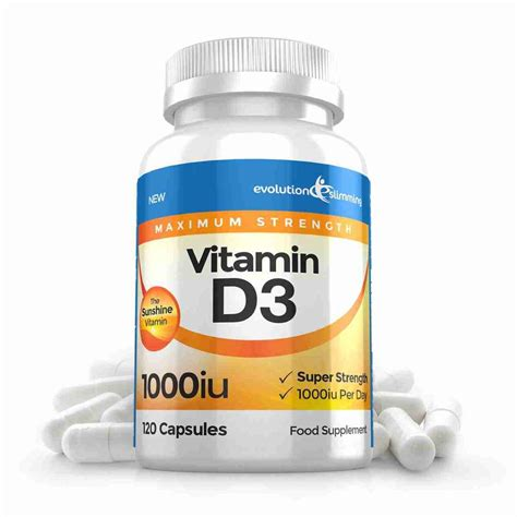 Vitamin D3 1000 Iu vitamin d 1 000 iu capsules max strength supplement