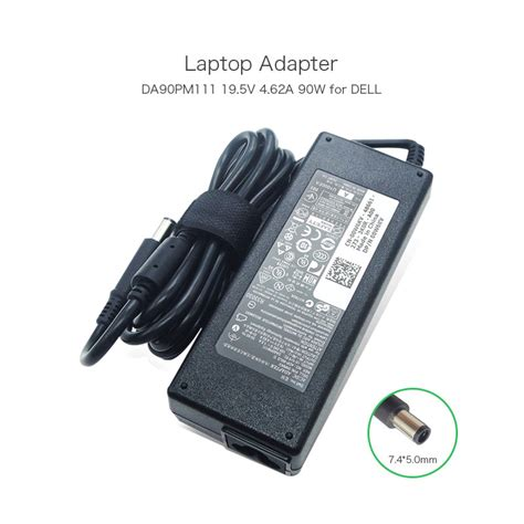 Adaptor Charger Original Dell 19 5v 4 62a Slim Dell 6400 4300 new genuine 19 5v 4 62a 90w laptop charger for dell adapter la90pm111 pa 1900 32d2 0w6kv 0w6kv