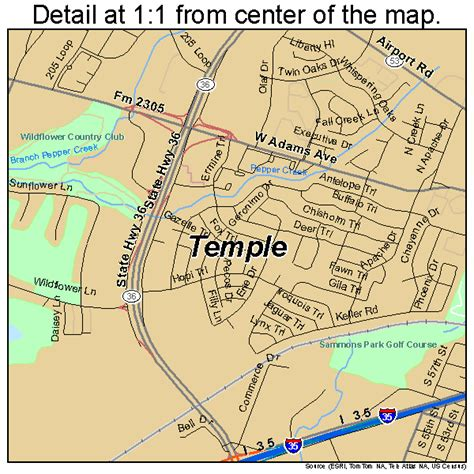 temple texas map temple texas map 4872176