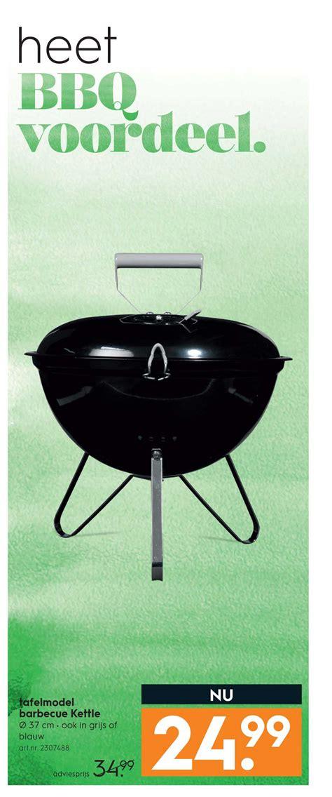 tafel bbq blokker tafelmodel barbecue kettle aanbieding bij blokker