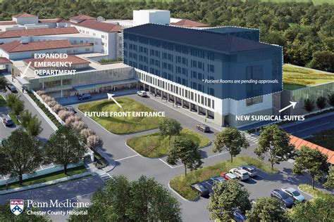 Chester County Property Records Penn Plans 90m Expansion At Chester County Hospital
